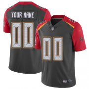 Wholesale Cheap Nike Tampa Bay Buccaneers Customized Gray Men's Stitched NFL Limited Inverted Legend Jersey
