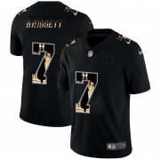Wholesale Cheap Indianapolis Colts #7 Jacoby Brissett Carbon Black Vapor Statue Of Liberty Limited NFL Jersey