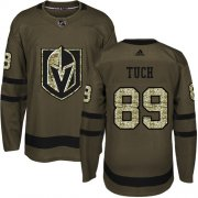 Wholesale Cheap Adidas Golden Knights #89 Alex Tuch Green Salute to Service Stitched NHL Jersey