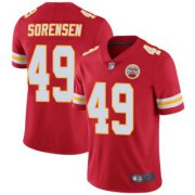 Wholesale Cheap Men's Kansas City Chiefs #49 Daniel Sorensen Team Color Vapor Untouchable Jersey - Limited Red