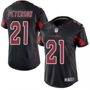 Wholesale Cheap Nike Cardinals #21 Patrick Peterson Black Women's Stitched NFL Limited Rush Jersey