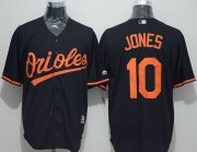 Wholesale Cheap Orioles #10 Adam Jones Black New Cool Base Stitched MLB Jersey