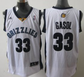 Wholesale Cheap Memphis Grizzlies #33 Marc Gasol White Swingman Jersey