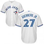 Wholesale Cheap Blue Jays #27 Vladimir Guerrero Jr. White New Cool Base Stitched MLB Jersey
