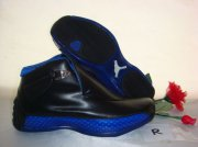 Wholesale Cheap Air Jordan 18 Shoes Dark blue/Black