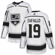 Wholesale Cheap Adidas Kings #19 Alex Iafallo White Road Authentic Stitched NHL Jersey