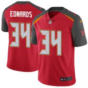 Wholesale Cheap Nike Buccaneers #34 Mike Edwards Red Team Color Men's Stitched NFL Vapor Untouchable Limited Jersey