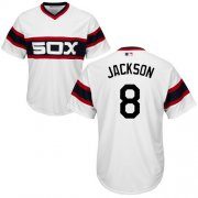 Wholesale Cheap White Sox #8 Bo Jackson White Alternate Home Cool Base Stitched Youth MLB Jersey