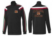 Wholesale Cheap NFL Cincinnati Bengals Heart Jacket Black_1