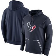 Wholesale Cheap Men's Houston Texans Nike Navy Champ Drive Vapor Speed Pullover Hoodie