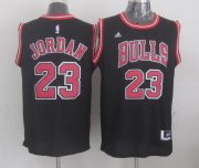 Wholesale Cheap Chicago Bulls #23 Michael Jordan Revolution 30 Swingman 2014 New Black Jersey