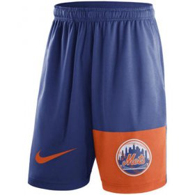 Wholesale Cheap Men\'s New York Mets Nike Royal Cooperstown Collection Dry Fly Shorts