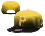 Wholesale Cheap MLB Pittsburgh Pirates Snapback Ajustable Cap Hat 2