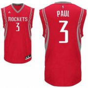 Wholesale Cheap Men's Houston Rockets #3 Chris Paul Red Stitched NBA Adidas Revolution 30 Swingman Jersey
