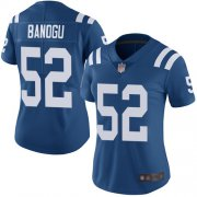 Wholesale Cheap Nike Colts #52 Ben Banogu Royal Blue Team Color Women's Stitched NFL Vapor Untouchable Limited Jersey