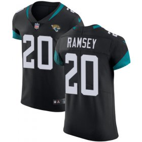 Wholesale Cheap Nike Jaguars #20 Jalen Ramsey Black Team Color Men\'s Stitched NFL Vapor Untouchable Elite Jersey