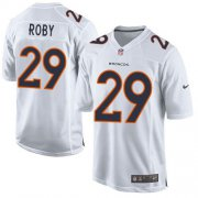 Wholesale Cheap Nike Broncos #29 Bradley Roby White Men's Stitched NFL Game Event Jersey