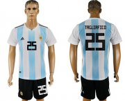 Wholesale Cheap Argentina #25 Tagliafico Home Soccer Country Jersey