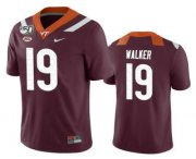 Wholesale Cheap Men's Virginia Tech Hokies #19 J.R. Walker Maroon 150th College Football Nike Jersey