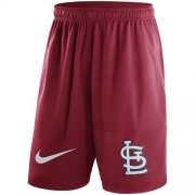 Wholesale Cheap Men's St.Louis Cardinals Nike Red Dry Fly Shorts