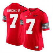 Wholesale Cheap Ohio State Buckeyes 7 Dwayne Haskins Red With Diamond Logo College Football Jersey