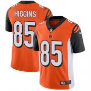 Wholesale Cheap Nike Bengals #85 Tee Higgins Orange Alternate Youth Stitched NFL Vapor Untouchable Limited Jersey