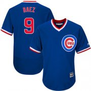 Wholesale Cheap Cubs #9 Javier Baez Blue Flexbase Authentic Collection Cooperstown Stitched MLB Jersey