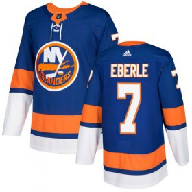 Wholesale Cheap Adidas Islanders #7 Jordan Eberle Royal Blue Home Authentic Stitched NHL Jersey