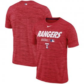 Wholesale Cheap Texas Rangers Nike Authentic Collection Velocity Team Issue Performance T-Shirt Red