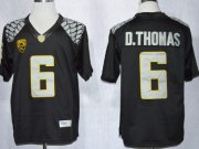 Wholesale Cheap Oregon Ducks #6 DeAnthony Thomas 2013 Black Limited Jersey