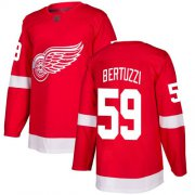 Wholesale Cheap Adidas Red Wings #59 Tyler Bertuzzi Red Home Authentic Stitched NHL Jersey