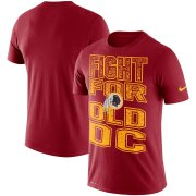 Wholesale Cheap Washington Redskins Nike Local Verbiage Performance T-Shirt Burgundy