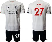 Wholesale Cheap Liverpool #27 Origi Away Soccer Club Jersey