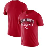 Wholesale Cheap Cincinnati Reds Nike Practice Performance T-Shirt Red