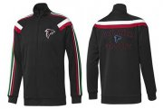 Wholesale Cheap NFL Atlanta Falcons Heart Jacket Black_1