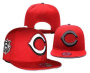 Wholesale Cheap MLB Cincinnati Reds Snapback Ajustable Cap Hat YD 2