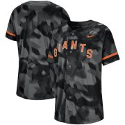 Wholesale Cheap San Francisco Giants Nike Camo Jersey Black