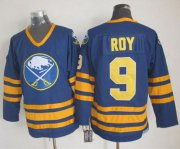 Wholesale Sabres #9 Derek Roy Navy Blue CCM Throwback Stitched NHL Jersey