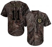 Wholesale Cheap Astros #11 Evan Gattis Camo Realtree Collection Cool Base Stitched Youth MLB Jersey