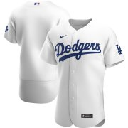 Wholesale Cheap Los Angeles Dodgers Men's Nike White Home 2020 Authentic Official Team MLB Jersey