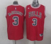 Wholesale Cheap Chicago Bulls #3 Doug McDermott Revolution 30 Swingman 2014 New Red Jersey