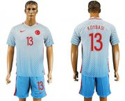 Wholesale Cheap Turkey #13 Koybasi Away Soccer Country Jersey