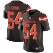 Wholesale Cheap Nike Browns #54 Olivier Vernon Brown Team Color Youth Stitched NFL Vapor Untouchable Limited Jersey