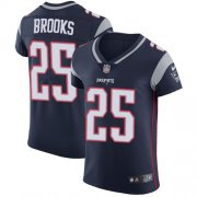 Wholesale Cheap Nike Patriots #25 Terrence Brooks Navy Blue Team Color Men's Stitched NFL Vapor Untouchable Elite Jersey