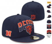 Wholesale Cheap Chicago Bears fitted hats 06