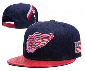 Wholesale Cheap NHL Detroit Red Wings hats 2