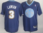 Wholesale Cheap Denver Nuggets #3 Ty Lawson Revolution 30 Swingman 2013 Christmas Day Navy Blue Jersey