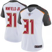 Wholesale Cheap Nike Buccaneers #31 Antoine Winfield Jr. White Women's Stitched NFL Vapor Untouchable Limited Jersey