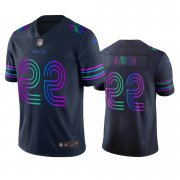 Wholesale Cheap Dallas Cowboys #22 Emmitt Smith Navy Vapor Limited City Edition NFL Jersey