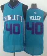 Wholesale Cheap Charlotte Hornets #40 Cody Zeller Green Swingman Jersey